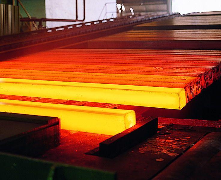 Heating Steel Stock